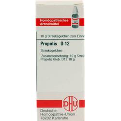 PROPOLIS D 12 Globuli 10 g