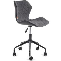 MY SIT Bürostuhl Design-Hocker Drehstuhl Stuhl INO Grau/Schwarz