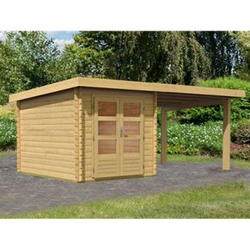 Woodfeeling Bastrup 4 Gartenhaus, mit Schleppdach