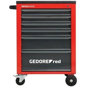 Gedore red Werkstattwagen Mechanic  (Ohne Werkzeug, Anzahl Schubladen: 6)