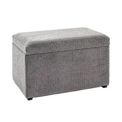 HAKU Möbel Sitztruhe grau
