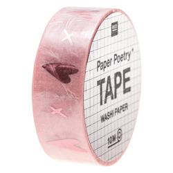 Tape Liebe Herzen Rosa