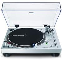 Audio-Technica AT-LP120X Plattenspieler mit Direktantrieb silber