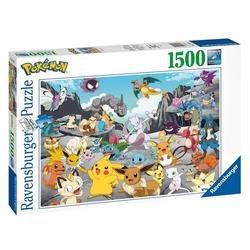 Ravensburger Puzzle Pokémon Puzzle Pokémon Classics (1500 Teile) von Ravensburger, Puzzleteile