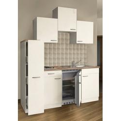 RESPEKTA Küchenzeile, Breite 180 cm weiß