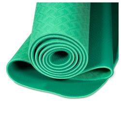 yogabox Yogamatte TPE 2-farbig grün