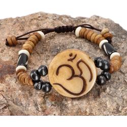 Guru-Shop Armreif Tibet Armband, buddhistisches Armband, Ethno..