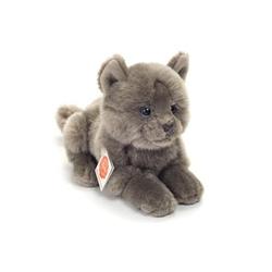 Teddy HERMANN® Kartäuser Katze liegend, 20 cm