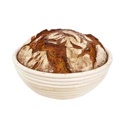 BigDean Gärkorb Gärkörbchen für Brot−Teig − Korb für Hobby−Bäcker − rund 1 kg und 1,5 kg, (2-tlg)