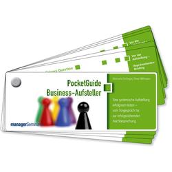 PocketGuide Business-Aufsteller Lernkarten