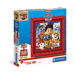 Clementoni® Puzzle Puzzle 60 Teile, Frame me up - PAW Patrol, Puzzleteile