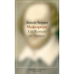 Shakespeare als Buch von Armin Senser