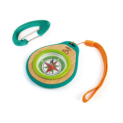 Hape Spiel, Camper-Set: Kompass + Karabiner
