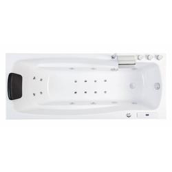 Emotion Whirlpool-Badewanne Ocean 150 links Premium Whirlpool Set (L/B/H) 150/70/57,5cm