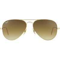 58mm matte gold / brown gradient