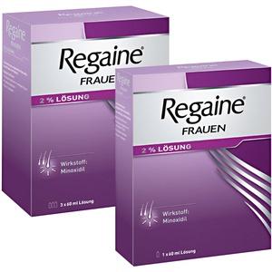 Regaine® Frauen Lösung 4 Monats-Packung Sparset 4x60 ml Lösung