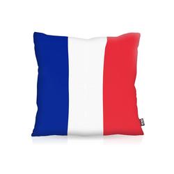Kissenbezug, VOID, Frankreich France EM WM Flagge Fahne Fussball Fan 50 cm x 50 cm