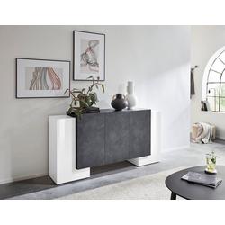 Tecnos Sideboard Pillon, Breite 170 cm grau