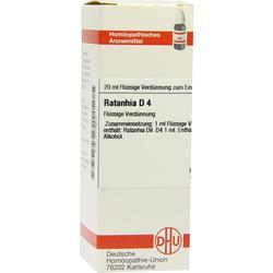 Ratanhia D 4 Dilution