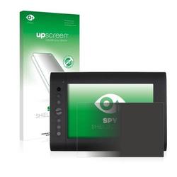 upscreen Spy Shield Clear Premium Blickschutzfolie für Huion H610 Pro