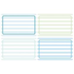 HERMA 10668 Beschriftungsetiketten 52x82 mm blau/grün ablösbar Papier matt Handbeschriftung 80 Stück