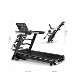Maskcare Laufband Multifunktionales Laufband Fitnessgerät & Fitnessstation mit LED Display