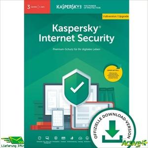 Kaspersky Internet Security 2021 | 3PC 1Jahr | VOLLVERSION / Upgrade DE-Lizenz