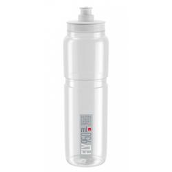 Elite Trinkflasche Trinkflasche Elite Fly 950ml, klar/grau