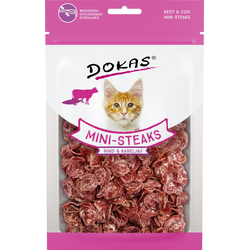 Dokas Mini-Steaks Rind & Kabeljau 40 g
