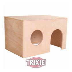 TRIXIE Holzhaus für Kleinnager 24x15x15 cm