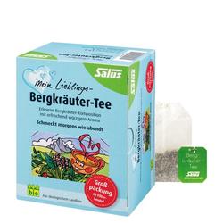 MEIN LIEBLINGS-Bergkräuter-Tee Bio Salus Fbtl. 40 St