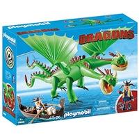 Playmobil Dragons Raffnuss und Taffnuss mit Kotz und Würg 9458