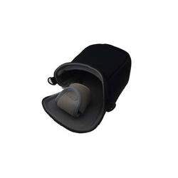 vhbw Universal Tasche Bag Case schwarz passend für Kamera, Kompaktkamera, Systemkamera, Bridgekamera, Camcorder, etc..
