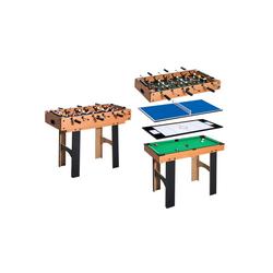 HOMCOM Spieltisch 4 in 1 Multi Spieltisch