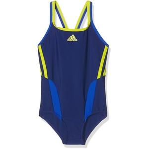 adidas Mädchen Badeanzug Inspiration, Unity Ink/Bold Blue, 140, AY5292