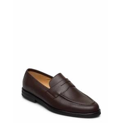 Morris Penny Loafers Loafers Flache Schuhe Braun MORRIS Braun 44