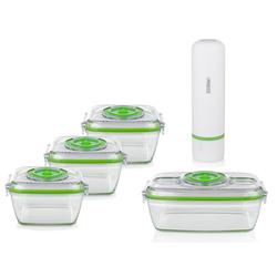 PRINCESS Hand-Vakuumierer, Food Saver für Vakuumierung Fleisch, Lebensmittel & Flüssigkeiten vakuumieren - Vakuummaschine