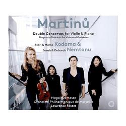 Kodama/Kodama/Nemtan - Doppelkonzerte für Violine & Piano (SACD)