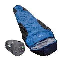 yellowstone Mumienschlafsack Adventurer 400 Schlafsack blau 80/55x230 cm in blau