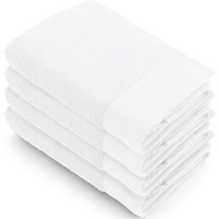 Walra Soft Cotton Handtuch 4 x 50 x 100 cm weiß