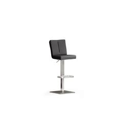 MCA furniture Barhocker Bruni in schwarz
