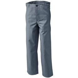 Planam Schweißerbundhose,Gr.48, 360 g/qm,grau