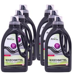 ALMAWIN Waschmittel für Dunkles und Schwarzes 6 x 750 ml