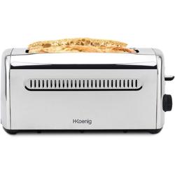 H.Koenig Toaster TOS32 Langschlitz-Toaster, 1500 W