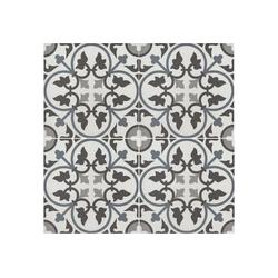 Casa Moro Fliesenaufkleber Marokkanische Fliese Adel 20x20 cm aus Feinsteinzeug in Zementfliesenoptik, FL7279