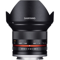 Samyang 12mm F2,0 NCS CS