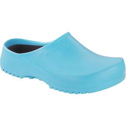 BIRKENSTOCK 068501, PU-Clogs Super Birki ciel light blue