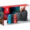 Nintendo Switch Konsole Neon-BlauNeon-Rot mit Schlag den Star
