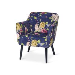 Sessel mit Blumenprint