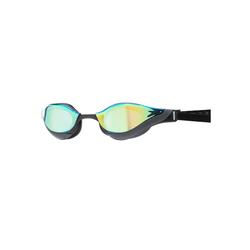 Speedo Schwimmbrille Fastskin Pure Focus, Anti-Beschlag,flexibler Nasensteg,polarisierte Gläser,rutschsicherer Sitz,verspiegelte Gläser,verzerrungsfreie Sicht